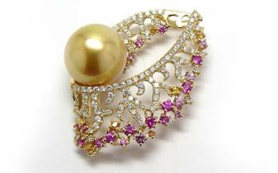 Hagoromo〜Golden Pearl Pendant〜