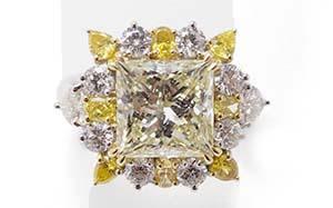 ダイヤモンド(MDF)  リング